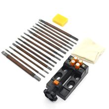 Stone Carving Tool Kits 18pcs Manganese Steel Hand Engraving Knife Carving free shipping jewellers tool jewelry tools stainless steel wax carving knife wax engraving tool 10pcs set
