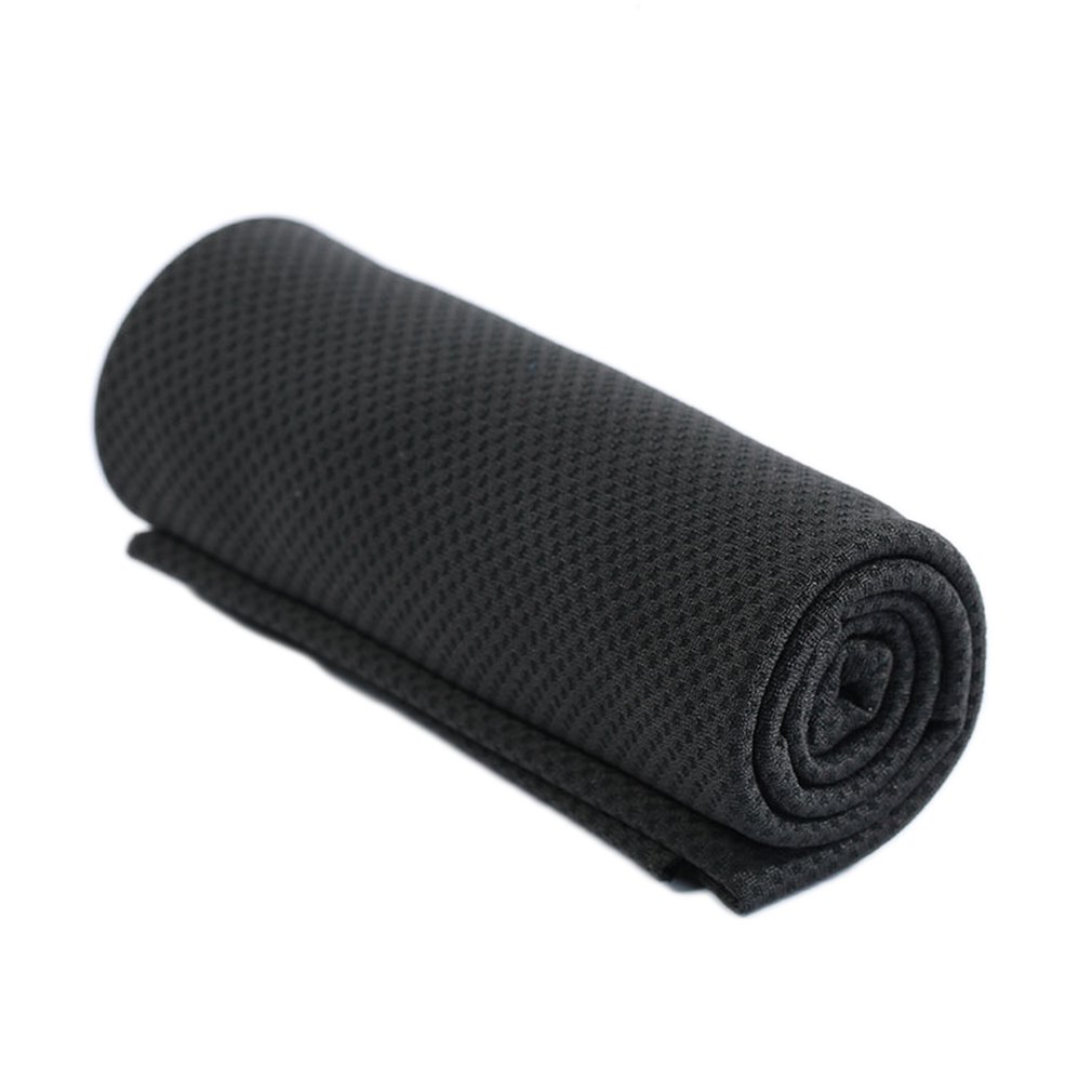 South Korea Magic Cold Towel Sports Summer-Proof Monochrome Full Polyester Silk