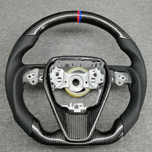 Steering-Wheel Carbon-Fiber Highlander Rav4 Corolla Toyota for Camry Retrofit 4-Xv70