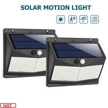 2PCS 108/140 LED Solar…