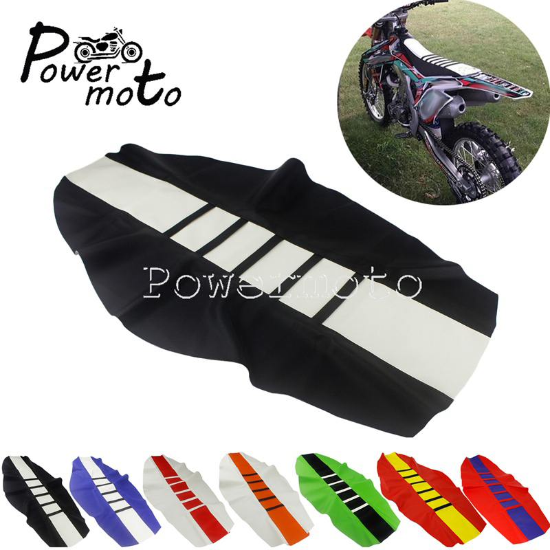 Байк для мотокросса MX тяги в рубчик сиденья мягкое сиденье для захвата чехол для Honda TE FE SX EXC XCW CRF XR 125 250 Enduro