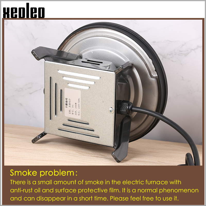 XEOLEO Electric Heater Stove Hot Plate Cooker Electrothermal Tea/Coffee/Milk Heating Furnace Multifunctional Kitchen Appliance - 3