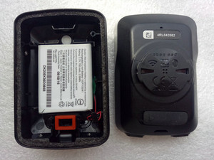 Image 1 - Batterie de remplacement pour Garmin Edge 820 chronomètre de vélo ordinateur couverture arrière boîtier de batterie remplacement pour GPS chronomètre (utilisé)
