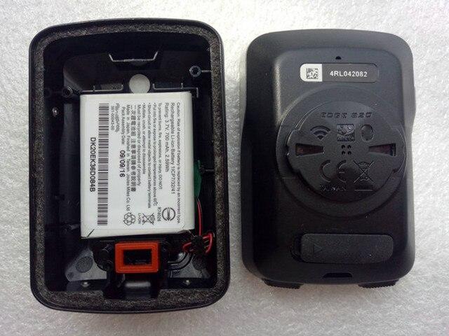 Batterie de remplacement pour Garmin Edge 820 chronomètre de vélo ordinateur couverture arrière boîtier de batterie remplacement pour GPS chronomètre (utilisé)