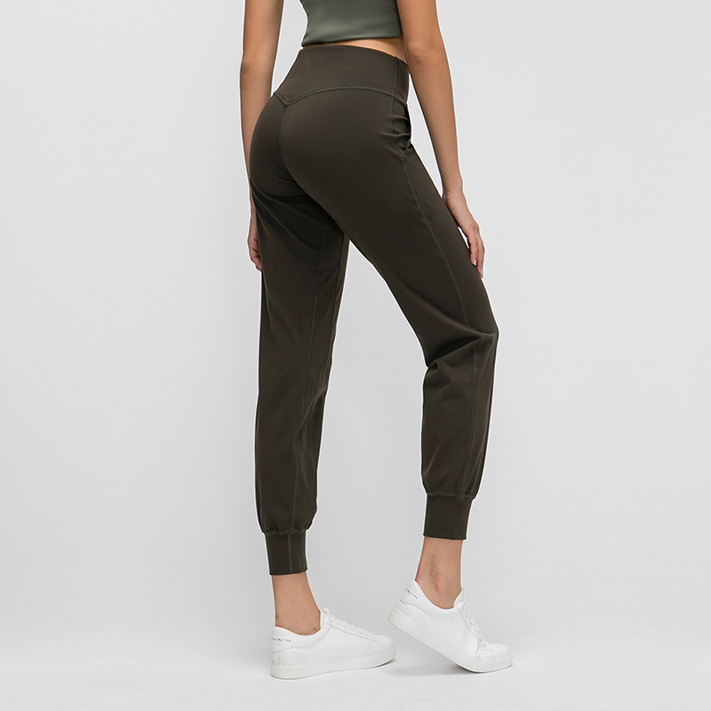NWT 2020 Classial Soft Naked-Feel Athletic Fitness Pants Women Stretchy High Waist Gym Sport Tights Pencial Pants