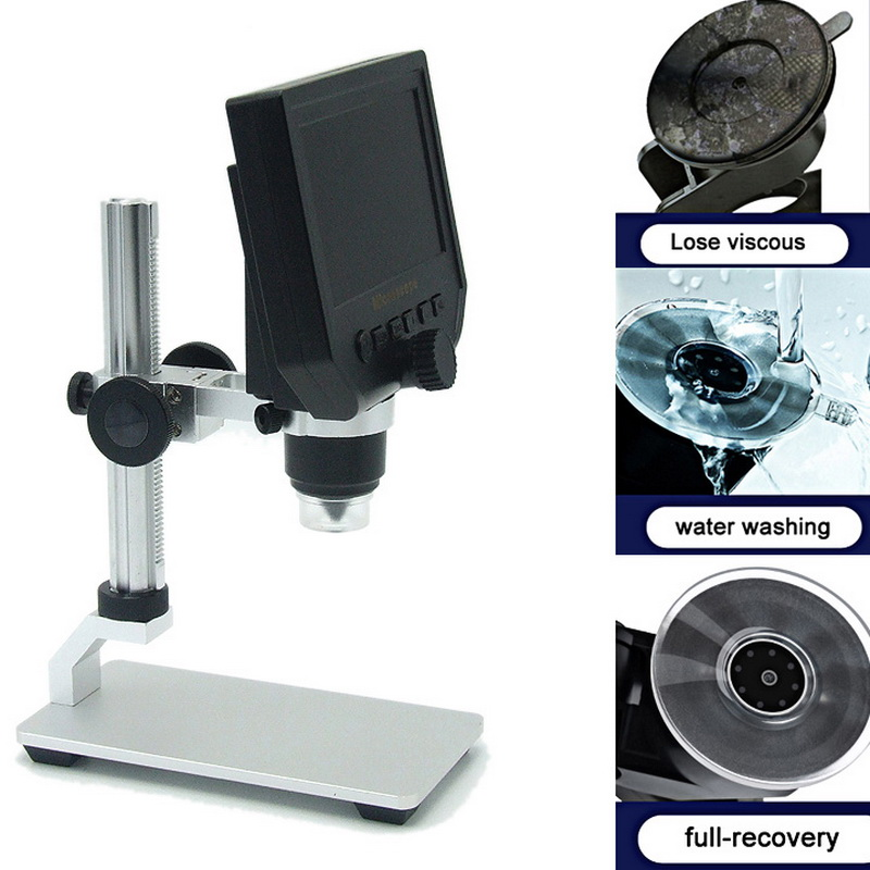 <font><b>4.3</b></font> <font><b>Inch</b></font> <font><b>Lcd</b></font> Endoscope Magnifying Camera 600X Digital Microscope Electronic Video Microscope Soldering Video Microscope Camera image