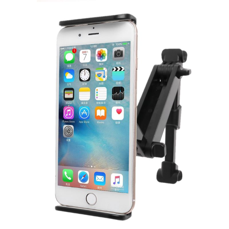 Image 4 - Car Rear Pillow Phone Holder Tablet Car Stand Seat Rear Headrest  Mounting Bracket for iPhone X8 iPad Mini Tablet 4 11/12.9 InchTablet  Stands