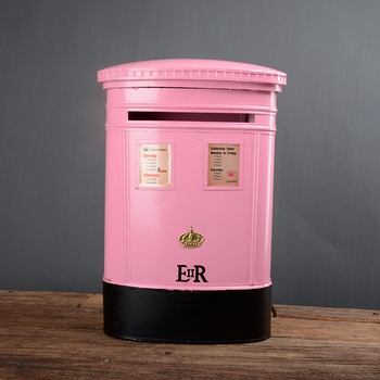 Tieyi suggestion box solicitation box ballot box British style wall Decoration building Hotel stairs masts  - buy with discount