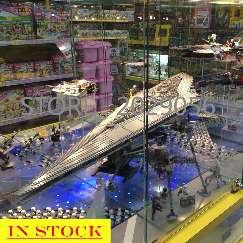05028 In Stock The Super Star Destroyer Star Movie Wars Series 3125PCS Model Building Blocks Compatible 10221 Children Toys