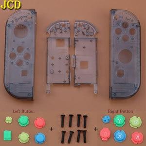 Image 3 - JCD avec boîtier doutils couvercle de coque pour interrupteur Nintend NS Joy Con boîtier de Protection de contrôleur avec bouton ABXY d pad pour NX Joy Con