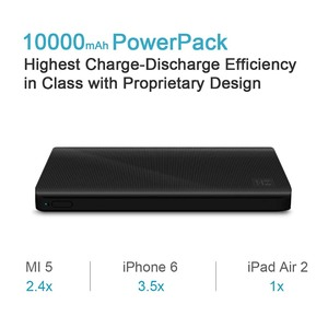 Image 5 - ZMI 10000mAh Power Bank External Battery 10000mAh Powerbank portable charging Type C way Quick Charge 2.0 for Xiaomi iPhone