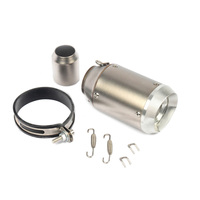 Kit Exhaust Tail Pipe Motorcycle Muffler Adapter Accessories Replacement