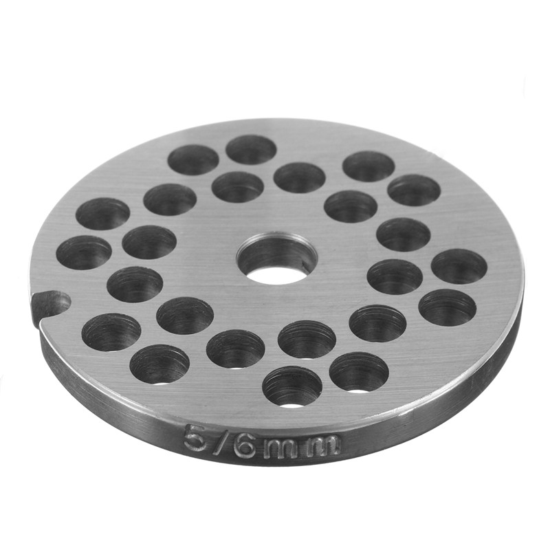 3/4.5/6/12mm Hole  For Type 5 Meat Grinder For Choice Stainless Steel  Meat Grinder Disc