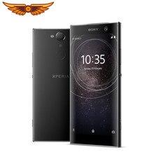 Orijinal Unlocked Sony Xperia XA2 artı sekiz çekirdekli 6.0 inç 4GB RAM 32GB ROM 23MP kamera LTE parmak izi Android cep telefonu