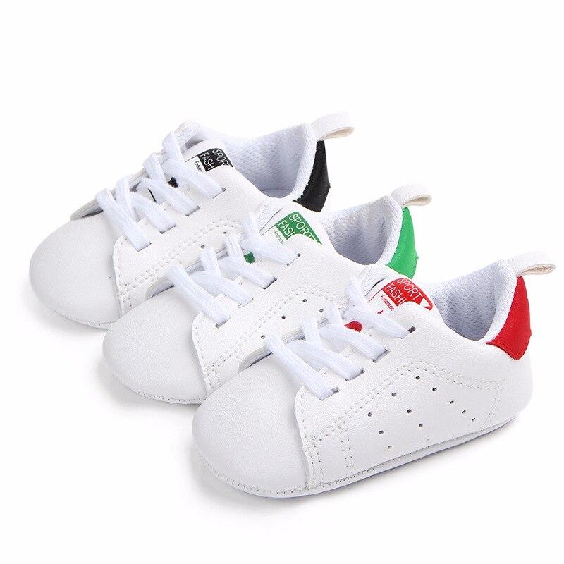 Chaussures bébé Garçon Fille Solide Sneaker Coton Doux Semelle Antidérapante Nouveau-Né Infantile Premiers Marcheurs Bambin décontracté Sport Chaussures de Berceau 1