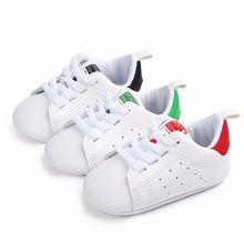 Baby Shoes Boy Girl Solid Sneaker Cotton Soft Anti-Slip Sole