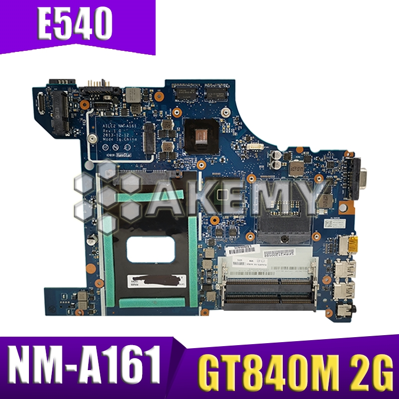 NM-A161 04X4786 04X5927 04X5928 For Lenovo ThinkPad E540 notebook <font><b>motherboard</b></font> PGA947 GT840M 2G HM87 DDR3 100% test work image