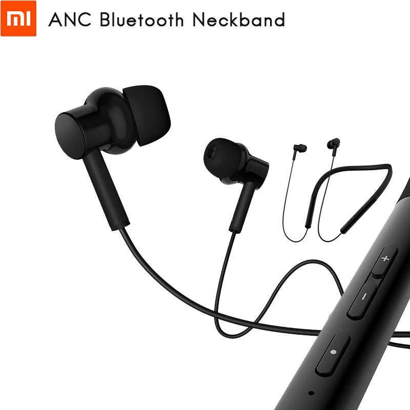 Oryginalny Xiaomi ANC słuchawki Bluetooth z pałąkiem na kark zestaw słuchawkowy cyfrowy hybrydowy potrójne kierowcy LDAC wygodne nosić do 20 godzin odtwarzania muzyki