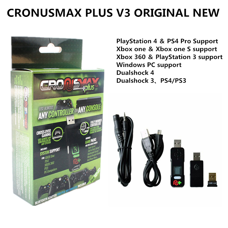 CronusMAX Plus Titan 2 Gaming Adapter Pack For PS4 PS3 Xbox One Xbox 360 PC Controls