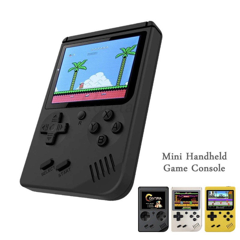 Console 8-Bit Game-Player Pocket Video-Game Handheld Retro Mini Built-In 400 No For Child