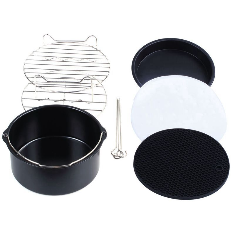 Air Fryer Accessories Air Fryer Set for Phillips Cozyna Air Fryer and Gowise Air Fryer Fit all 3 7QT 5 3QT 5 8QT 100pcs Non in Air Fryers from Home Appliances