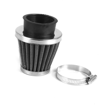 42mm High Flow Air Intake Cone Filter Cleaner Fuel Saver Fit Motorcycle Bike For Suzuki Honda image