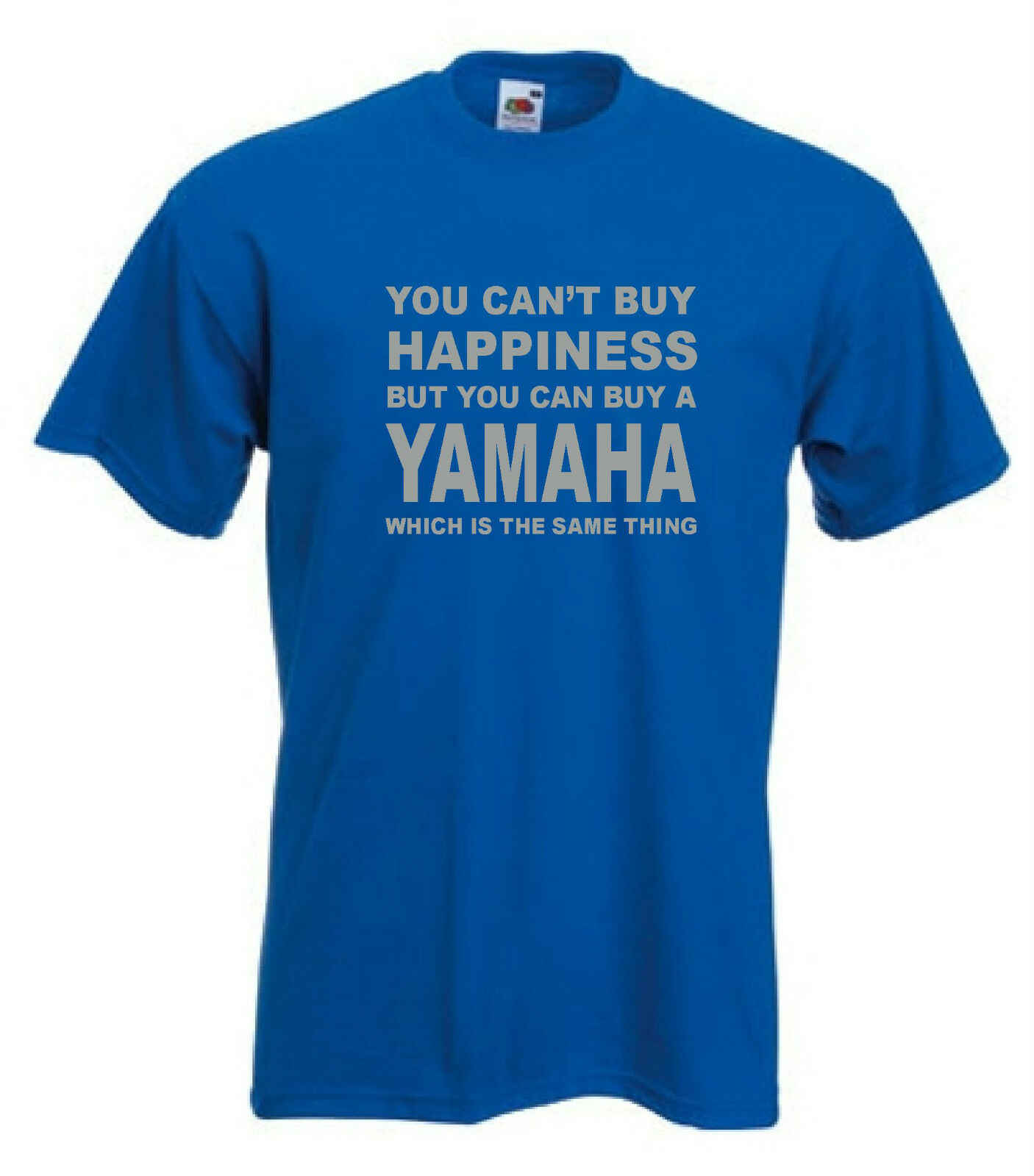 New Yamaha Motorcycle Racing Black T-shirt Racing Size S-3XL