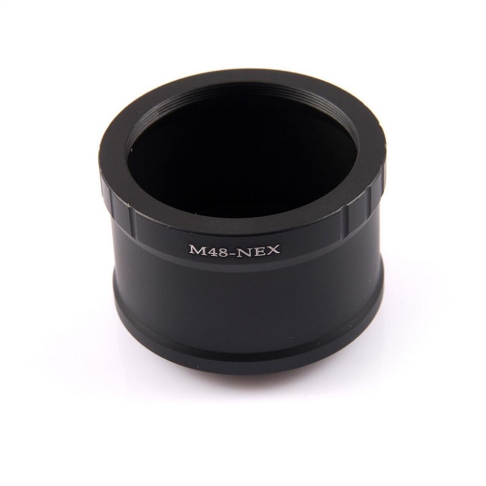 Agnicy 전송 M48 망원경 마이크로 단일 전자 마운트 카메라 어댑터 링 M48X0.75 전체 프레임 M48-NEX