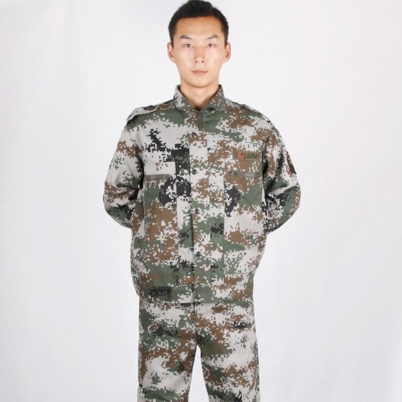 Military Training Camouflage Clothing Camouflage Service Digital Camouflage Service Military Training Camouflage Work Clothes Ma