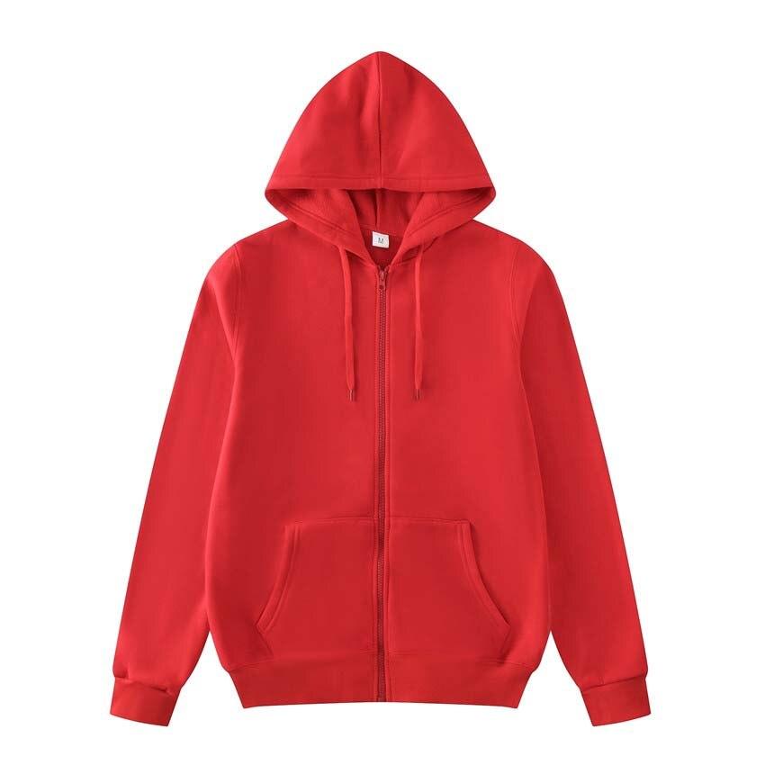 Novo 2019 Plain Mens Zip Up Jacket Com Capuz Da Camisola Com Capuz Zipper masculino Top Outerwear Preto Cinza homens Boutique Frete grátis