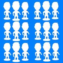 """Soccerwe 2,5"""" куклы Мультяшные шарнирные фигурки Оптовые продажи на заказ"""