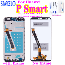 Original New for Huawei P Smart FIG-LX1/L21 LCD Display Touch Screen Digitizer Panel Assembly with Frame  P Smart LCD Replacemen