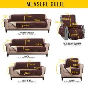 Image 5 - Секционные чехлы для диванов, детские коврики для собак, эластичные чехлы для диванов, защита для мебели, водонепроницаемость, противоскользящие