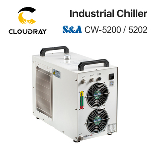 Image 2 - Cloudray S&A CW5200 CW5202 Industry Air Water Chiller  for CO2 Laser Engraving Cutting Machine Cooling 150W Laser Tube