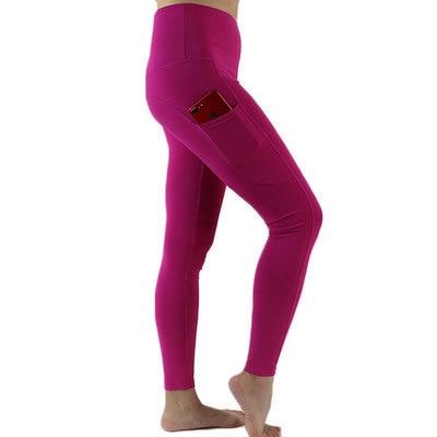 High Waist Yoga Pants Sport Leggings Women Fitness Legins Push Up Gym Leggins with Pocket  calzas mujer fitness