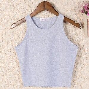 Image 3 - 2020 女性の服ブランドのデザインタンク熱帯作物トップスセクシーなトップtシャツトップタンクボディシャツ