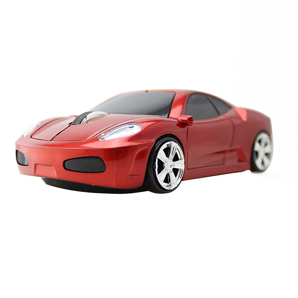 Creative Wireless Sports Car Modeling Game Mouse 2.4G Optical Mouse Computer Peripheral Accessories Gifts