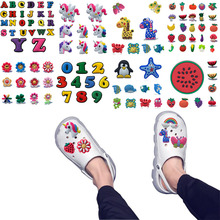 Shoe Shoe-Decorations Charms-Accessories Flowers Unicorns Sweet-Ornaments Animals Girls