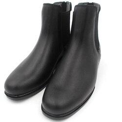 Ботинки для верховой езды из натуральной кожи, 1 пара, мужские и женские ботинки на молнии сзади, высококачественные ботинки-седло, черные бо...