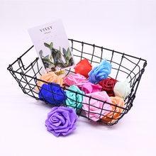 8 см искусственные розы Свадебный букет невесты полиэтиленовый