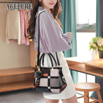 ACELURE Casual Plaid Shoulder Bag  5