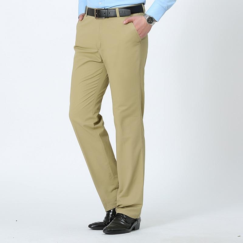 MRMT 2020 Brand Spring And Summer Men's Trousers Cotton Slacks Loose Pants For Male Straight High Waist Long Trouser