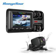3 Cameras Car DVR D40 Dash Camera WiFi ADAS Night version Reverse Image Car Driving Recorder