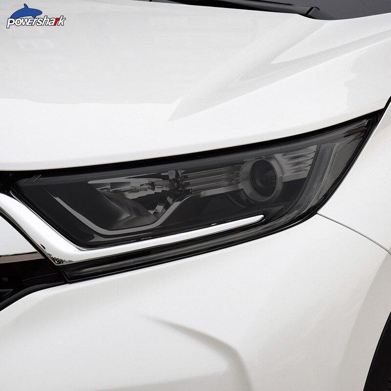 Автомобильные фары оттенок Черная защитная пленка прозрачная ТПУ Наклейка для Honda CR V CRV 2017 2018 2019 2020 аксессуары|Наклейки на автомобиль| | АлиЭкспресс