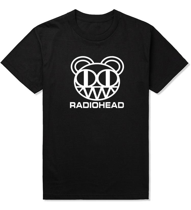 Rock And Roll T Shirt Men Custom Design Radiohead Shirts Arctic Monkeys T Shirts Cotton Music T-shirt 2020 New T-shirt