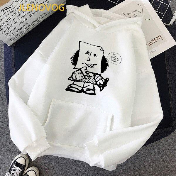 Toda mafalda толстовки с принтом для женщин и мужчин капюшоном