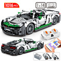 1016pcs City High-tech RC/non-RC Sports Car Building Blocks Creator Racing Vehicle Bricks Sets Education Toys For Children