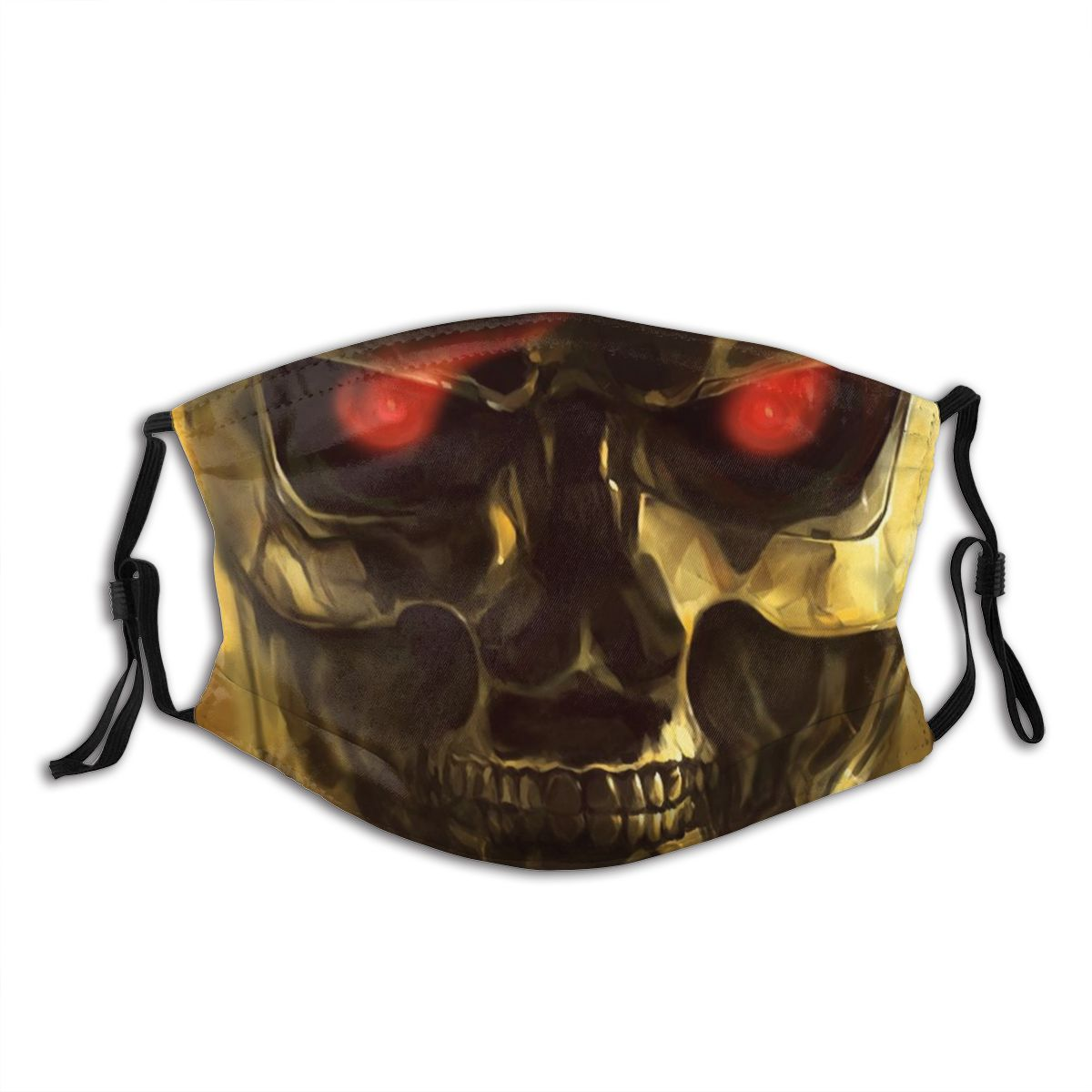 Terminator Unisex Non-Disposable Face Mask Anti Haze Dustproof Mask With Filters Protection Cover Respirator Mouth Muffle