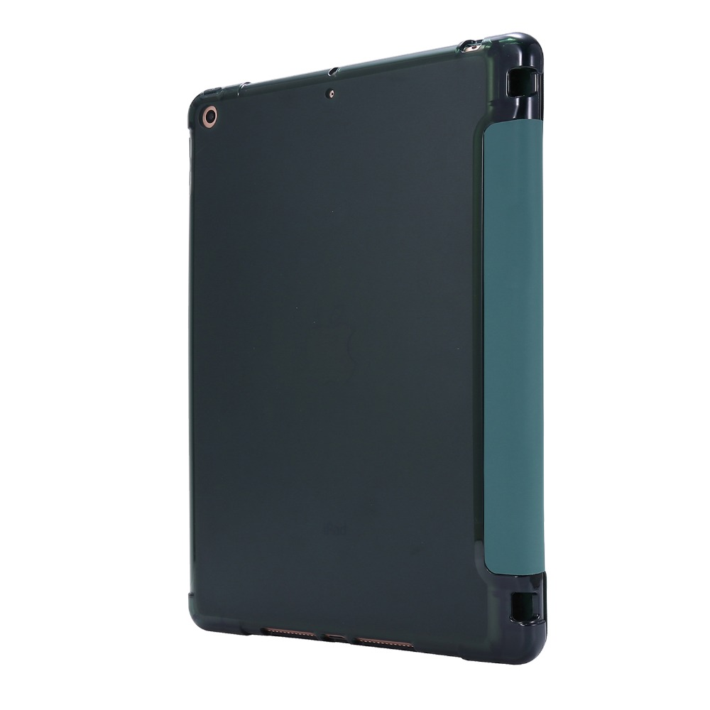 iPad Light-Color for Folding-Cover Funda 7th-Generation-Case Pencil-Holder 10-2-Case with