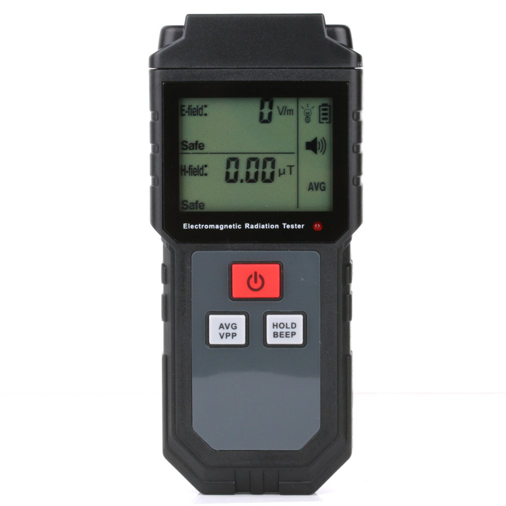 RZ825 Electromagnetic Field Radiation Tester EMF Meter Counter Digital Dosimeter LCD Detector Measurement For Computer Phone